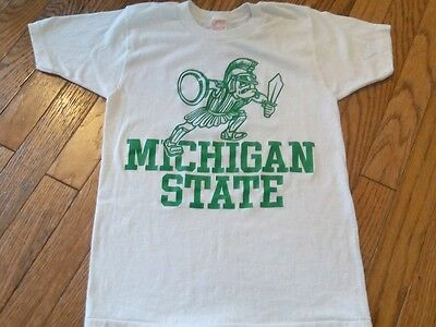 Very Vintage True Original Michigan State T Shirt Youth M (10-12) 1980s