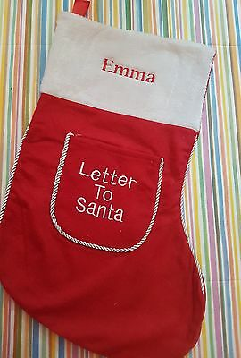 Personalised Christmas Stocking - Any Name