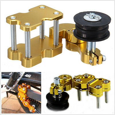 Motorcycle Aluminum Adjuster Chain Tensioner Bolt On Roller Tool For Yamaha