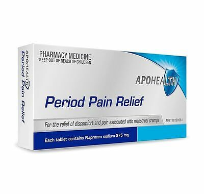 ==> Apohealth Period Pain Relief 275Mg 24 Tablets Generic Of Naprogesic