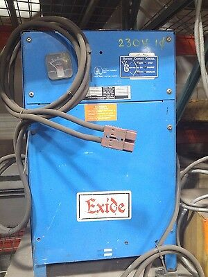 Exide 24v Industrial Battery Charger - Single Phase