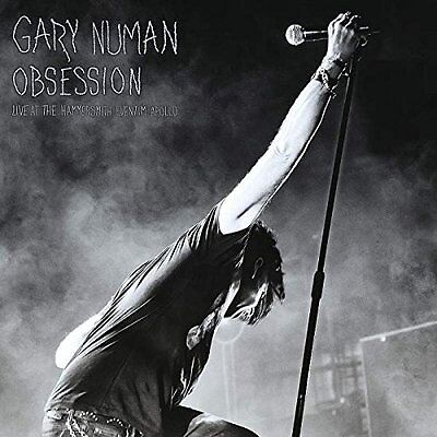 GARY NUMAN Obsession BOX 3 LP Live Limited Edition Nuovo