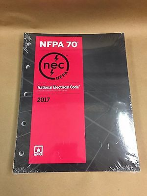 2017 NEC - National Electrical Code, Looseleaf Edition - Pages Only - No Binder