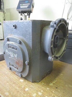 Boston 1.7 Hp In 2403 Lb/inch Out Torque Ratio 50 Worm Gear Reducer F732-50-B7-J