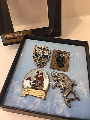 Pirates of the Caribbean: Dead Men Tell No Tales Pin Set Limited Edition Disney