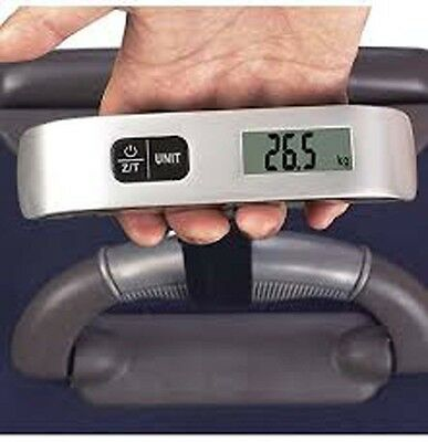 Luggage Scale With Temperature Sensor Handheld Bag Weighing 110 Lbs
