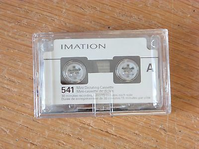 3M 541 Mini Cassette Tape high quality dictation tape new