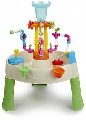 Little Tikes Fountain Factory Water Table Play Outdoor Fun Activity Toy Kids NEW