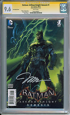 Batman Arkham Knight: Genesis #1 CGC 9.6 Signature Series signed by Jim Lee