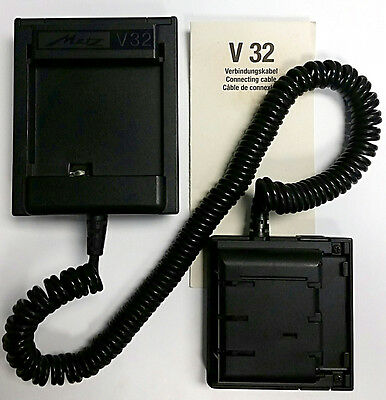 NEW Metz V32 Connecting Cable/Cord Adapter: 32 Z-1 Z-2 MZ-3 to Power Pack P40