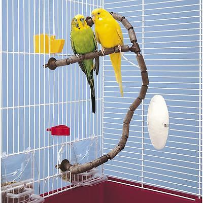 Canaries Exotic Small Birds PERCH Kit Modular Flexible 79 Pcs 12Mm Bird PERCHES