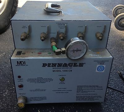 MDI-Pinnacle 1000CB Refrigerant Recover/Recycle Unit for R12