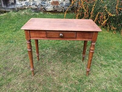 Victorian Antique Pine Desk or Hall Table