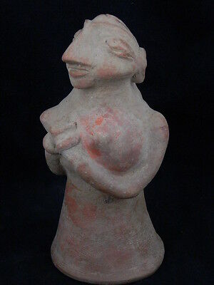 Ancient Huge Size Teracotta Hollow Mother Goddess Indus Valley 3000 BC  #TR886