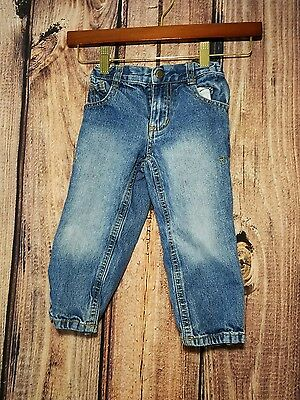 Boy Girl Blue Lucky Brand Denim Jeans Bottoms Pants Size 2T Casual Cute