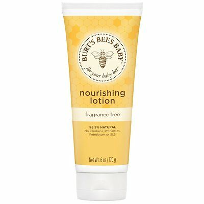 Burt's Bees Baby Bee Nourishing Lotion Fragrance Free 6oz Burts
