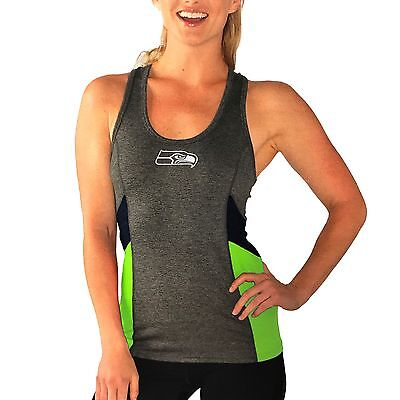 GIII 4her Women's NFL Seattle Seahawks Core Strength Tank Top