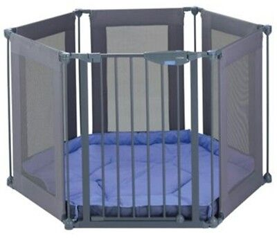 Boxed Lindam Baby playpen, Safety Guard and mat.