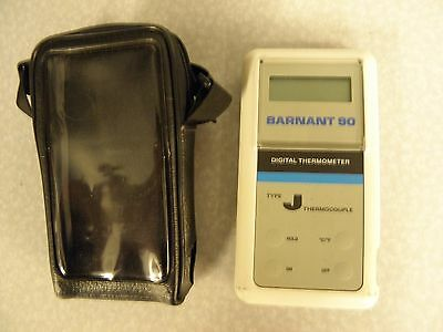 Barnant 90 Digital Thermometer model 600-2830