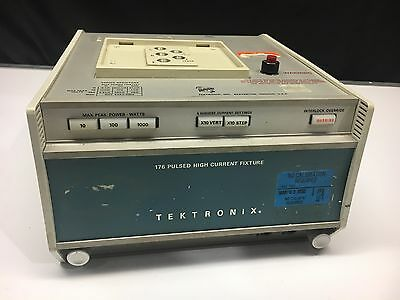 Tektronix 176 Pulsed High Current Fixture for 576 Curve Tracer - 200A 1000W