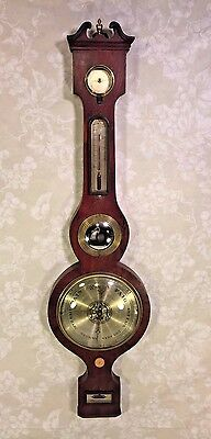 Rosewood Banjo Weather Station George IV 1825 Walterston Edinburgh Scotland
