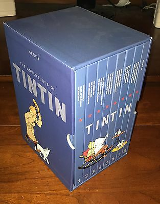 The Adventures of Tintin: Collector's Gift Set By Herge - Free Shipping