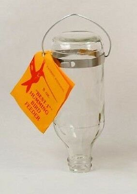 Original Best-1 Hummingbird Feeder 8 oz Replacement Glass Bottle Best 1 USA