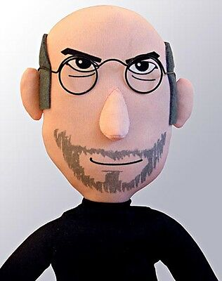 RARE PodBrix Plush Steve Jobs doll - Limited Edition Only 500 made. Never opened