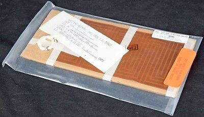 "NEW Tayco Engineering 8"" x 4"" Flexible Circuit Resistive Foil Heater 54-4331-30"