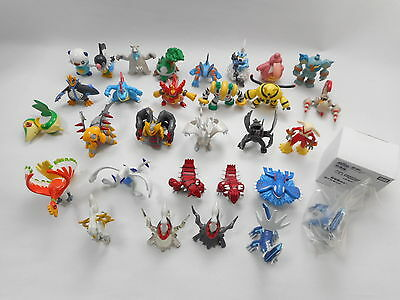 Pokemon Tomy Figure Lot of 30 Monster Collection Darkrai Clear Dialga Pearl