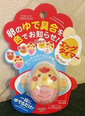 Fun! Egg Timer Gadget Color Change Fun Kitchen Tool For Adults & Kids From Japan