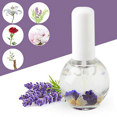 15ml Cuticle Nutrition Replenishing Lavender Lily Dried Flower Nail Oil Proper