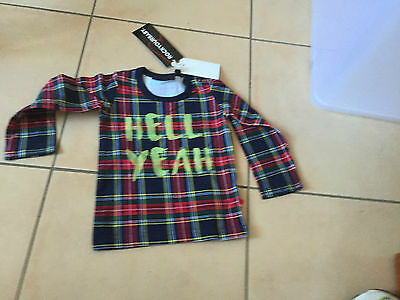 Rock Your Baby Hell Yeah  Ls  Top Sz 00 Bnwt