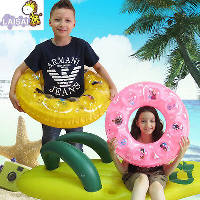 Kids/Adult  Swimming Ring Inflatable Rubber Tubes Pool Float Raft Random Color