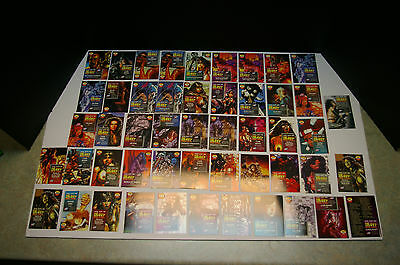 1995, Lot Of 41 The Art Of Heavy Metal Series 2 Comic Images Cards