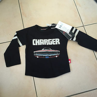 Rock Your Baby Charger Ls  Top Sz 00 Bnwt