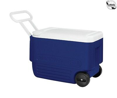 IGLOO Wheelie Cool 38 Coolbox - Blue/White - 00045004