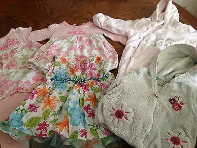 Bundle Of Baby Girls Clothes 3-6 Months