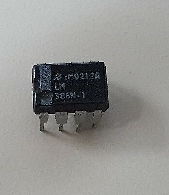 LM386 LM386N DIP-8 Audio Power AMPLIFIER IC             **USA SELLER!**