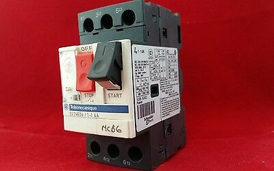 Telemecanique Gv2Me06/1-1.6A 1A - 1.6A Motor Starter Switch