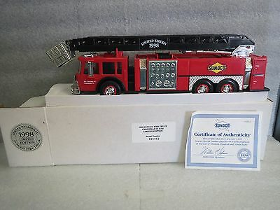 Sunoco 1998 Christmas In July Limited Edition Fire Truck-Serialized