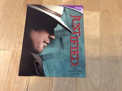 Justified Complete Series Seasons 1-6 - UV Ultraviolet code only - from blu-ray
