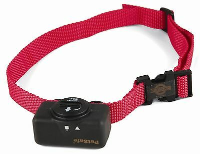Bark Control Collar Stop Noise No Howling Barking Dog Puppy Big Small Red