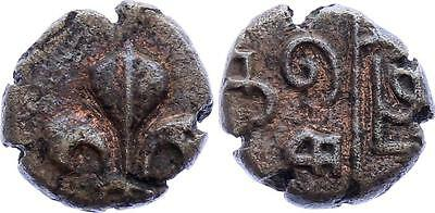 COIN French India 1 Doudou 1720-1835 KM# 35 Pondichery