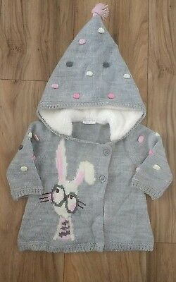 next baby girl jacket 3-6