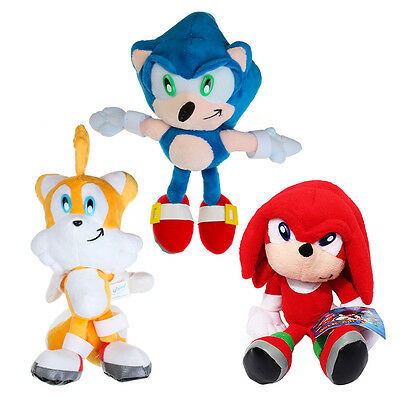 """8.6"""" Sonic The Hedgehog Tails Seag Games Soft Plush Figure Doll Kids Toy Gift"""