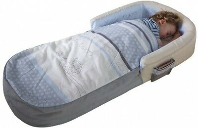 Sleepytime Owl My First ReadyBed - Toddler Airbed and Sleeping Bag In One NEW