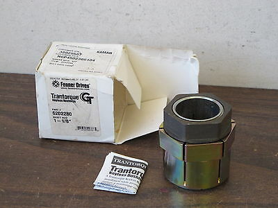 "Fenner 6202280 Trantorque Keyless Bushing,1-1/8"" X 2"",new Old Stock"