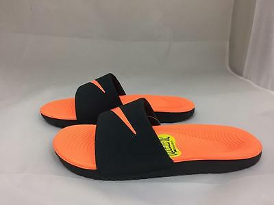 dbdfdc3fec9b1 NEW JUNIORS NIKE Kawa Slide 819352-001 -  26.00