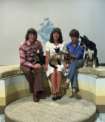 Peter Purves, John Noakes and Valerie Singleton photo - H7266 - Blue Peter